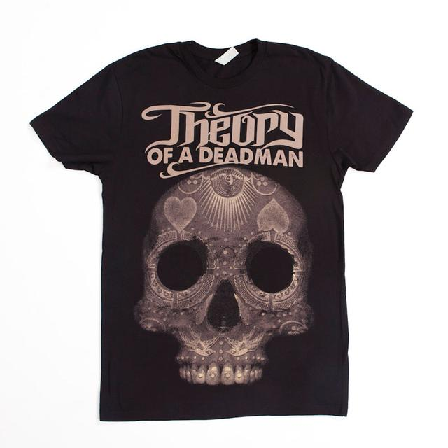 Theory of a Deadman Decorative Skull T-Shirt