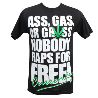 CURRENSY ( CURREN$Y ) Ass, Gas, or Grass T-Shirt
