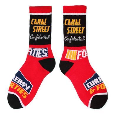 CURRENSY ( CURREN$Y ) 40's & Shorties Custom Racecar Socks