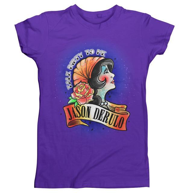Jason Derulo Talk Dirty Juniors T-Shirt
