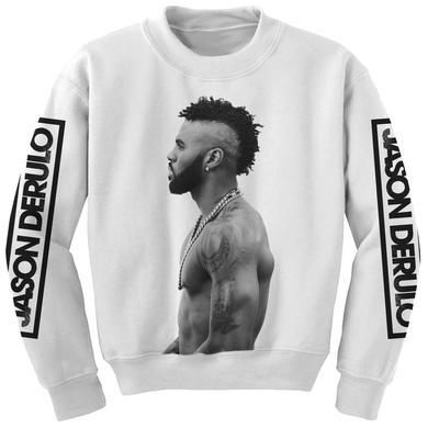 Jason Derulo Profile Crewneck Sweatshirt