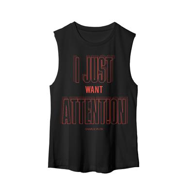 Charlie Puth Attention Radiate Muscle Tank