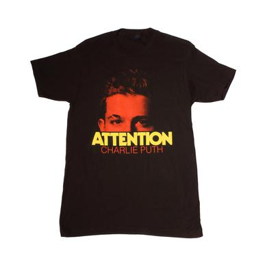 Charlie Puth Attention Peek Slim Fit T-Shirt