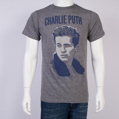 Charlie Puth Charlie Portrait Slim Fit T-Shirt