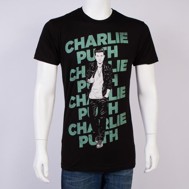 Charlie Puth Layered Slim Fit T-Shirt