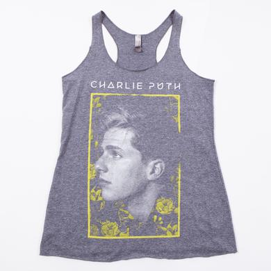 Charlie Puth CP Flowers Juniors Tank