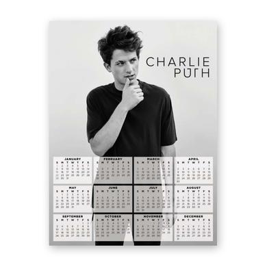 Charlie Puth 2017 Poster Calendar