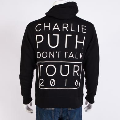 Charlie Puth Don't Talk Tour Hoodie