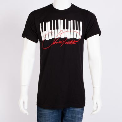 Charlie Puth Piano Sig Slim Fit T-shirt