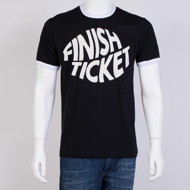 Finish Ticket Logo Slim Fit T-Shirt