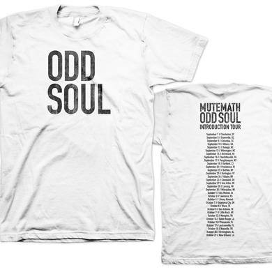 Mutemath Odd Soul Tour T-shirt (white)