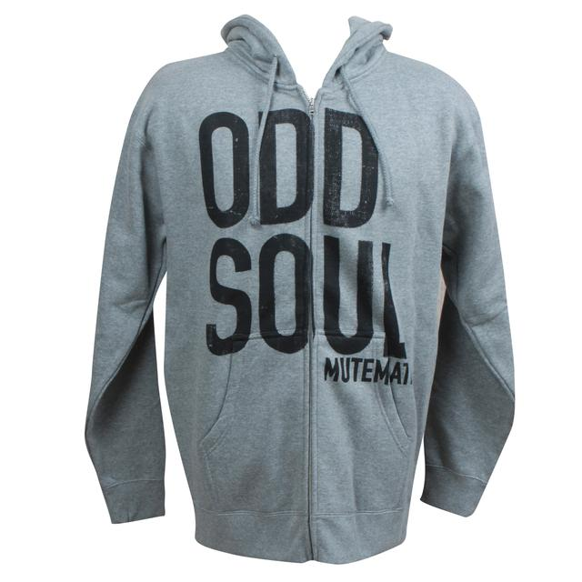 Mutemath Odd Soul  Zip Up Hoodie
