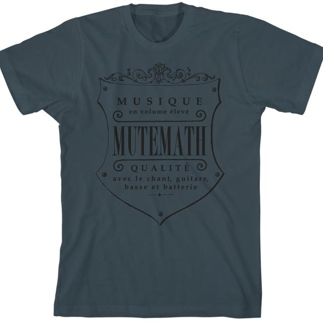 Mutemath MM Seal T-shirt (indigo)
