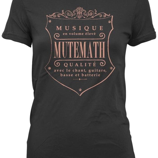 Mutemath MM Seal Juniors T-shirt (black)