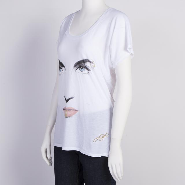 JoJo Sketched Face Dolman Top