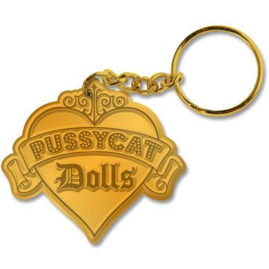 Pussycat Dolls Logo Keychain