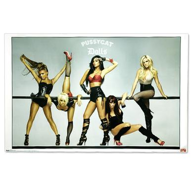 Pussycat Dolls Burlesque Pose Poster