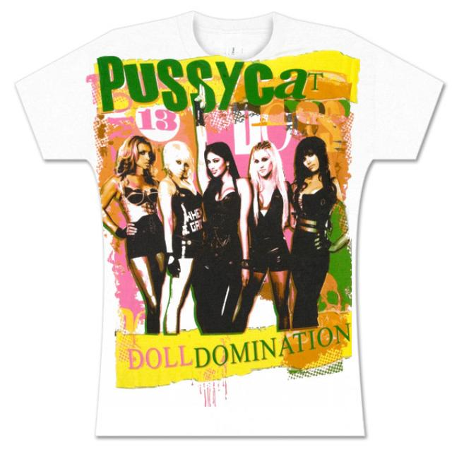 Pussycat Dolls White Domination Babydoll