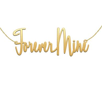Andra Day Forever Mine Gold Necklace