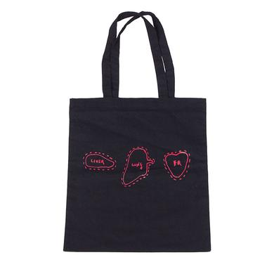 Frightened Rabbit Lung Liver Tote Bag