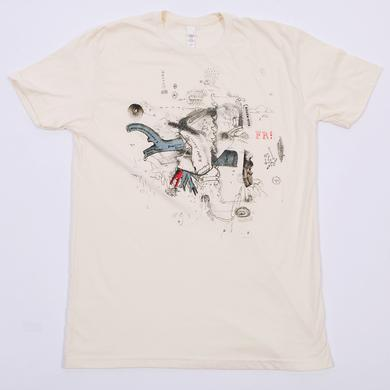 Frightened Rabbit Midnight Organ Flight T-Shirt