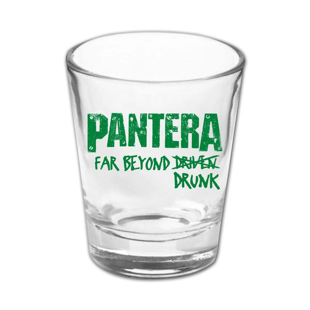 Pantera Far Beyond Drunk Shot Glass