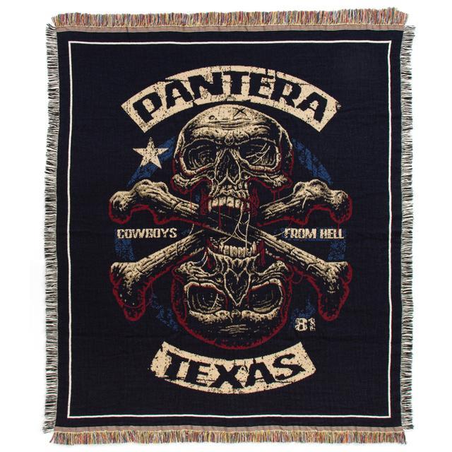 Pantera Skull Texas Blanket