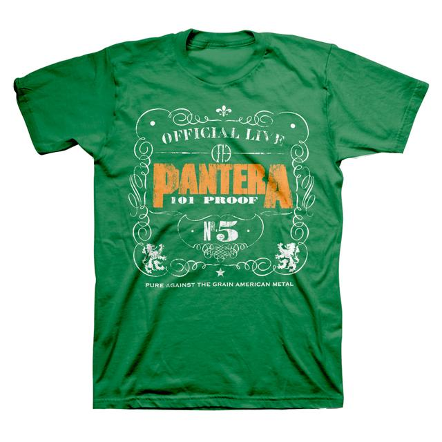 Pantera 101 Irish T-Shirt