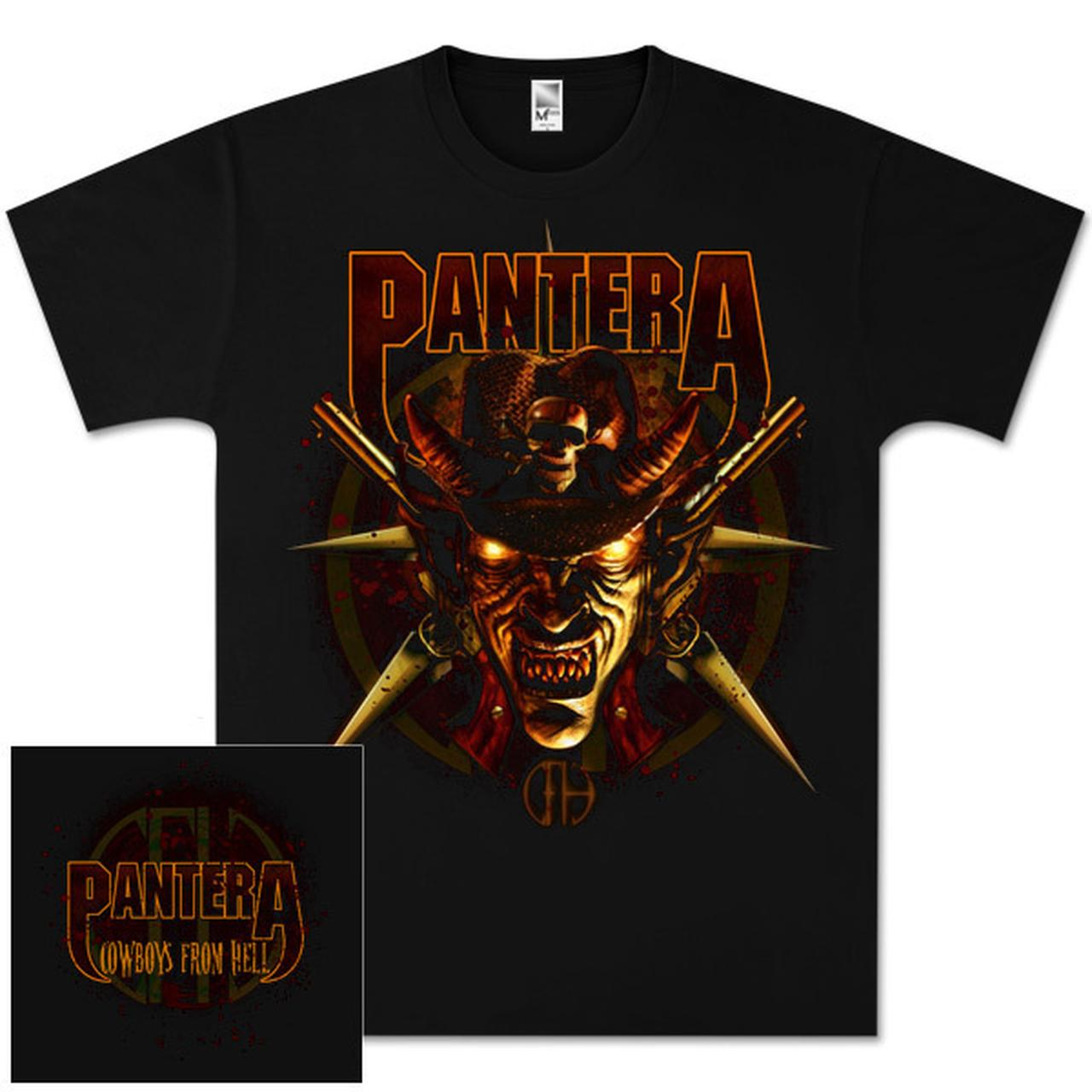 pantera cowboys from hell tshirt