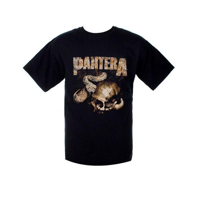 Pantera Rattler Skull T-Shirt