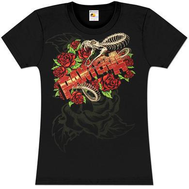 Pantera Girls Rattler Skull T-Shirt