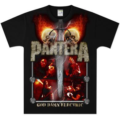 Pantera Lightning Skulls T-Shirt