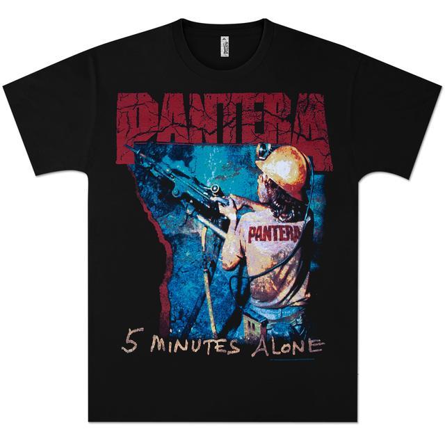 Pantera 5 Minutes Alone T-Shirt