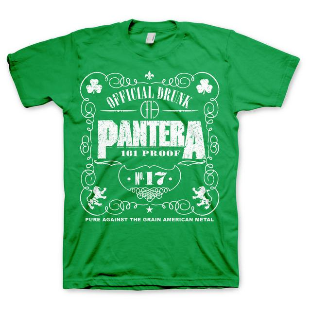 Pantera 101 Proof St. Patrick's T-Shirt