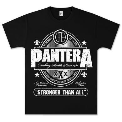 Pantera Stronger Than All XXX T-Shirt
