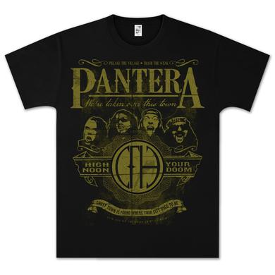 Pantera High Noon Your Doom T-Shirt