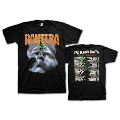 Pantera Beyond Driven Tour Dateback  T-Shirt