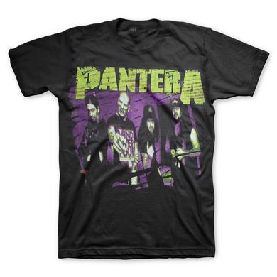 Pantera Group Sketch T-Shirt