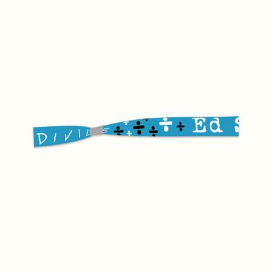 Ed Sheeran Symbols Fabric Wristband