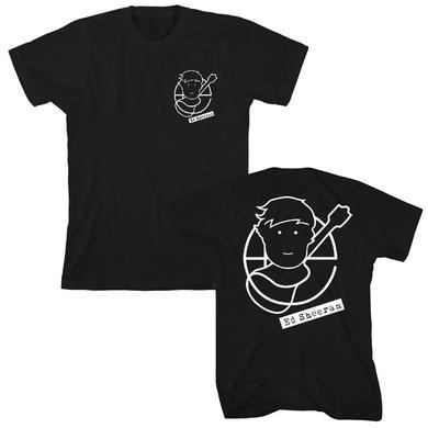 Ed Sheeran Pocket Pictogram T-Shirt