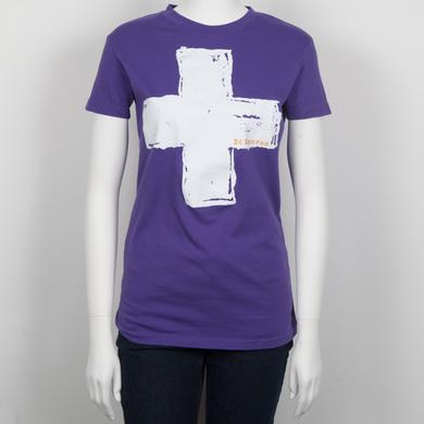 Ed Sheeran Crossed Lines Juniors T-Shirt