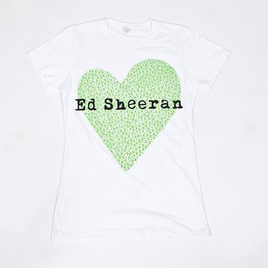 Ed Sheeran x Heart Juniors T-Shirt