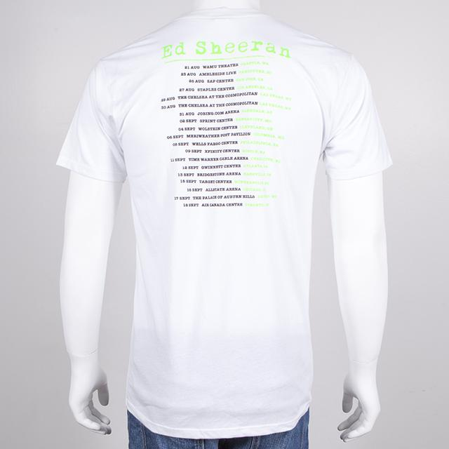 Ed Sheeran Album X Tour Slim Fit T-Shirt