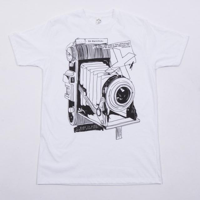 Ed Sheeran Photography Sketch T-Shirt