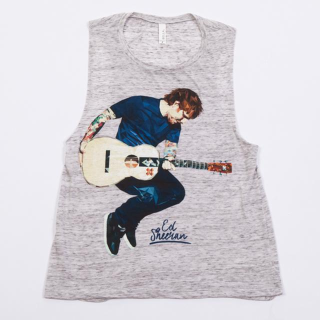Ed Sheeran Geo Juniors Muscle Tank