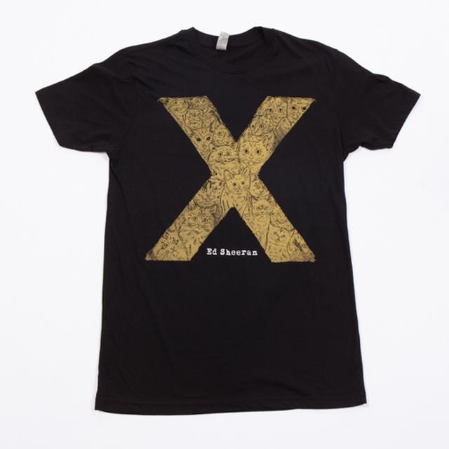 Ed Sheeran Cat Lover T-Shirt