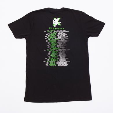Ed Sheeran Silhouette Tour T-Shirt