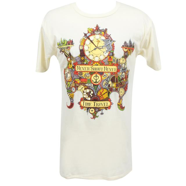 Never Shout Never Time Travel Cover T-Shirt