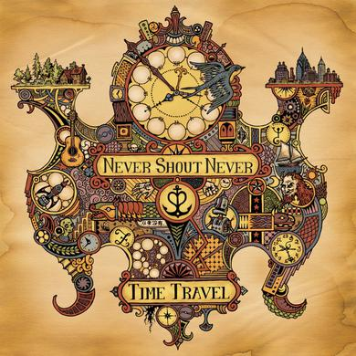 Never Shout Never Time Travel CD