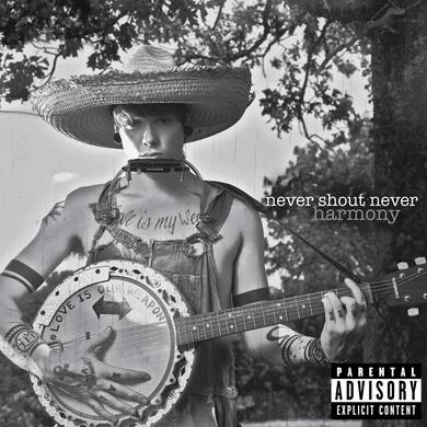 Never Shout Never Harmony CD